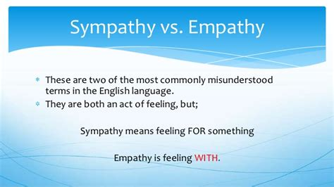 achieving empathy  sympathy  clips