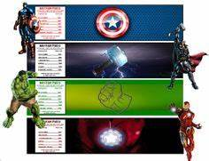 free printable iron man water bottle labels free With avengers water bottle labels