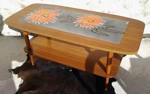 Table Basse Scandinave Vintage : table basse scandinave vintage 60 39 s les vieilles choses ~ Teatrodelosmanantiales.com Idées de Décoration