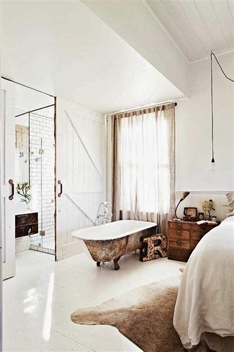 baignoire chambre la salle de bain ouverte une tendance qui s 39 affirme