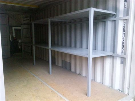 shipping container shelving  racking  sale