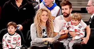 Shakira, Gerard Pique and Kids Enjoy Knicks Game on ...