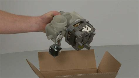 dishwasher pump motor assembly replacement ge dishwasher repair part wdx youtube