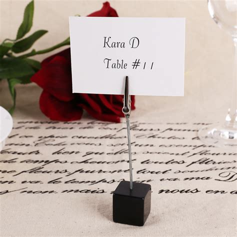 table number place cards 10x wedding office meeting place card holders table