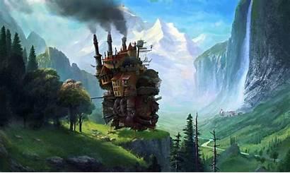 Castle Moving Howl