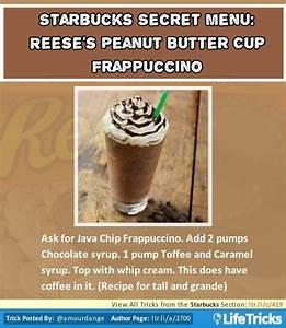 Starbucks Secret Menu: Reese's Peanut Butter Cup ...