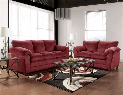 living room sofas and loveseats burgundy sofa and loveseat fabric living room sets