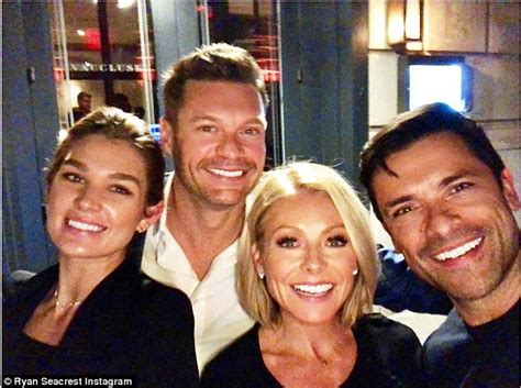 Ryan Seacrest and Kelly Ripa go on double date in New York ...