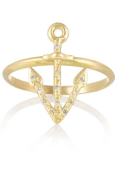 Natasha Zinko 18 karat gold diamond ring NET A PORTER COM