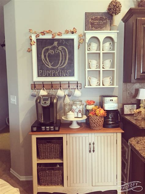 coffee station ideas  light   day craftsonfire