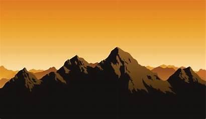 Rocky Mountains Vector Mountain Silhouette Range Clip