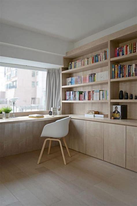 bureau bois scandinave meubler decorer bureau scandinave blanc accueil design