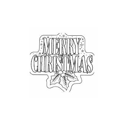 Coloring Merry Christmas Pages Printable Banner Printables