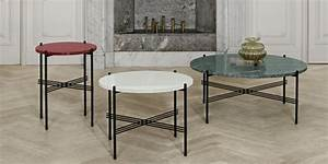Table Ronde De Salon : une table basse ronde pour un salon cosy marie claire ~ Teatrodelosmanantiales.com Idées de Décoration
