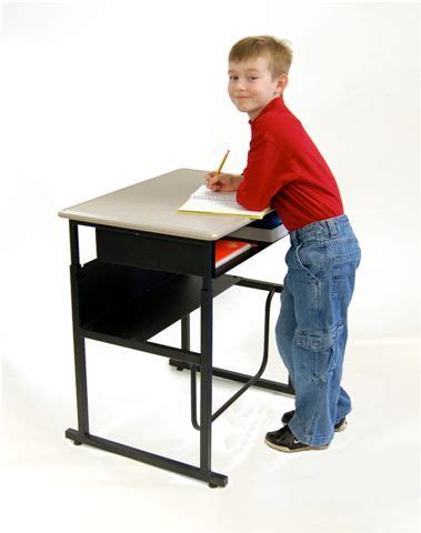 standing desks for students alphabetter stand up desk adhd student