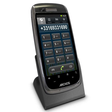 android home phone archos android powered home phones announced