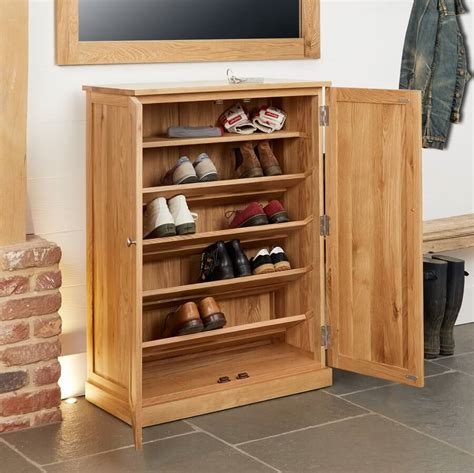 Shoes Cupboard by Abdabs Furniture Large Shoe Cupboard Mobel Oak
