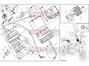 Ducati Hypermotard Battery Holder  U00bb Wiring Harness Exploded Drawing  U0026gt  Oem
