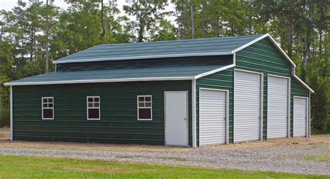 4 car garage cost pole barn garage kits 101 metal building homes