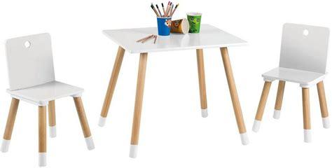 Tisch Und Stuhl Kinder by Roba Tisch Und St 252 Hle F 252 R Kinder 187 Kindersitzgruppe Wei 223
