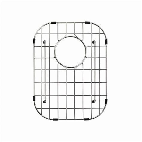 kitchen sink grid kraus stainless steel bottom grid for kbu24 right bowl 2730