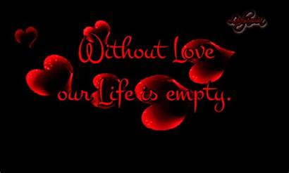 Without Gifs Animated Quotes Romantic Empty Loves