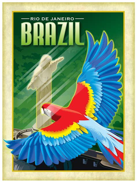 Brazilian Travel Posters on Behance