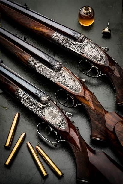 Shotgun Westley Richards Gun Double Rifles Hunting