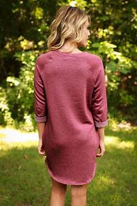 Endless Style Tunic in Crimson • Impressions Online Boutique