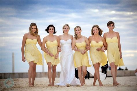 Collection Short Beach Bridal And Bridesmaid Gowns
