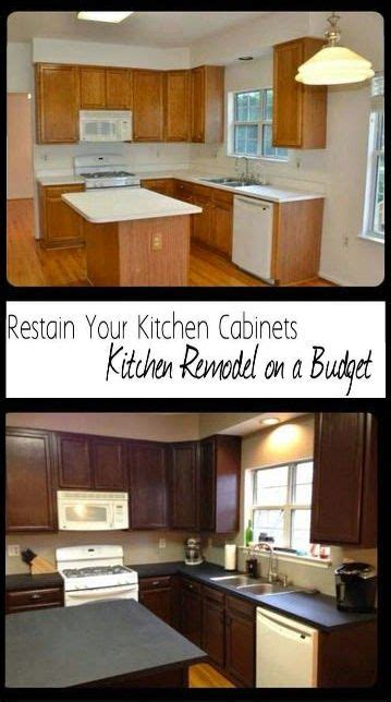 how to design a kitchen best 25 restaining kitchen cabinets ideas on 7230