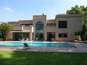 Vente villa marrakech villa moderne avec piscine a for Villa avec piscine a louer a marrakech