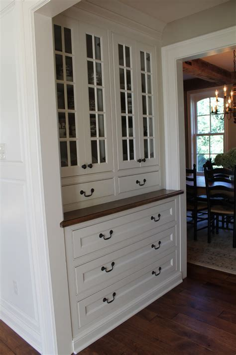 pantry storage cabinet Spaces Farmhouse with butlers