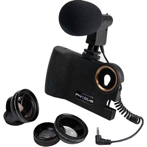 mic for iphone smart phocus 3 lens bundle shotgun mic for iphone 5 b h