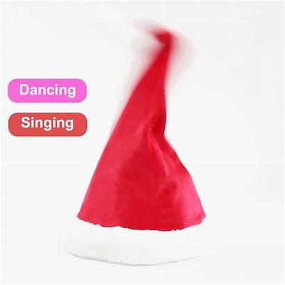 Hat Santa Christmas Soft Claus Musical Creative
