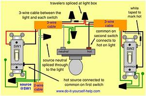 Electrical - Light With 3 Way Switch Does Not Work  Need Help