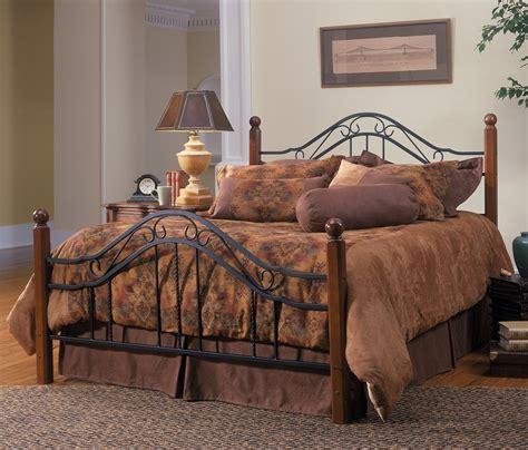 queen size bed frame rustic bedroom furniture antique headboard metal wood home ebay