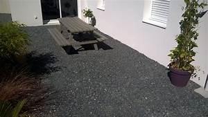 Pose Terrasse Bois Sur Gravier : pose terrasse bois sur gravier finest dalles with pose ~ Premium-room.com Idées de Décoration