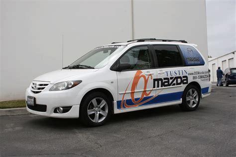 partial vehicle wraps  iconography long beach orange