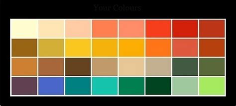 Palette Green All Seasons by 4 Season Color Analysis Color Me Pretty