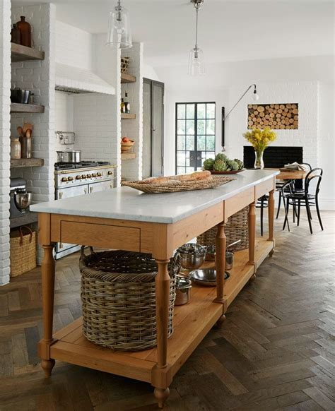 Customize a kitchen island to suit your personal style