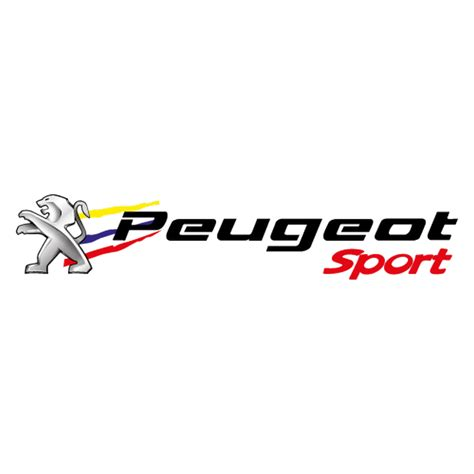 Logo Peugeot by Peugeot Sport New Logo Decal