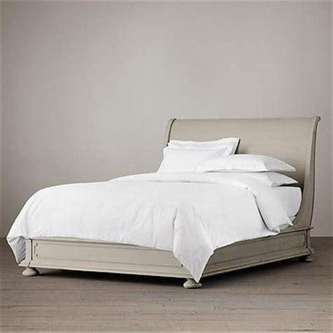 st james panel bed without footboard i restoration hardware