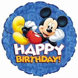 Happy Birthday Mickey Mouse : happy birthday mickey mouse happy birthday ~ Buech-reservation.com Haus und Dekorationen