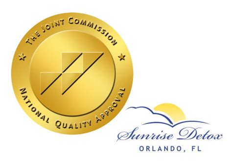 jcaho approved substance abuse treatment center sunrise