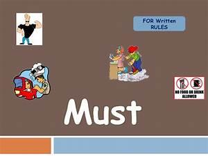Must, Mustn, U0026, 39, T