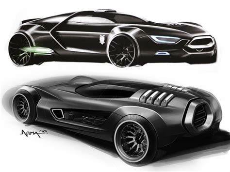 ford mad max interceptor concept car body design