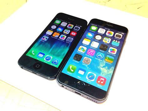 iphone 5 vs 6 iphone 5 vs iphone 6 rumores apple iphone 6 pro