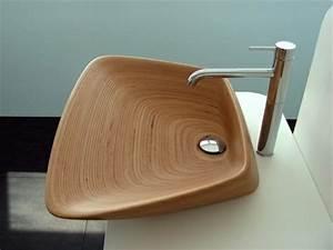 Waschbecken Aus Holz : waschbecken design lassen sie sich einfach inspirieren ~ Sanjose-hotels-ca.com Haus und Dekorationen