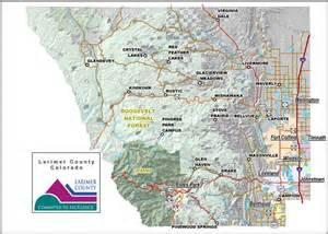 Larimer County Colorado Map